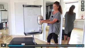 Få automatisk stærkere mave, ryg og bækkenbund