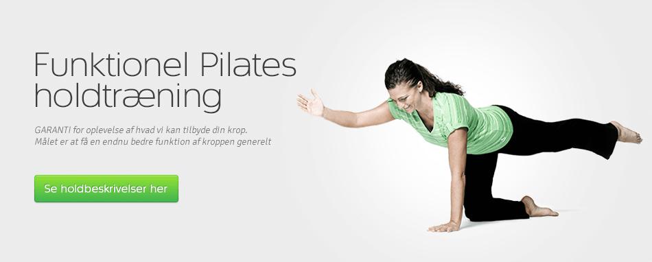 Forside - Holdtræning Pilates