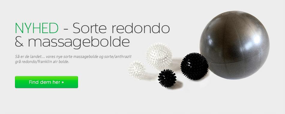 Forside - Sorte massagebolde + Air bold
