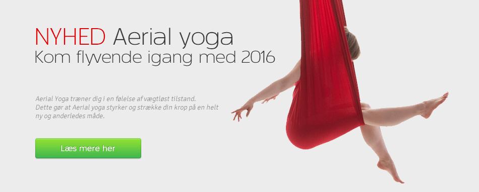 Forside - Aerial yoga