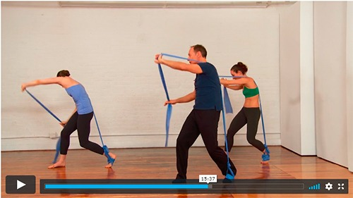 25 min gratis elastiktræning med Franklin Method