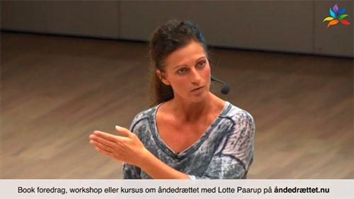 Lær fra et foredrag om åndedrættet med Lotte Paarup