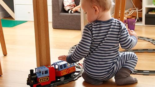 Din motorik som baby sætter spor til idag!