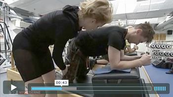 Genoptræning af soldater med Pilates Reformer