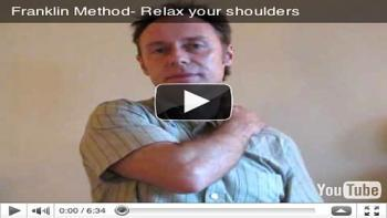 Relax your shoulders