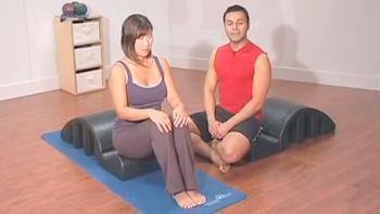 De-stress med Pilates på 5 min