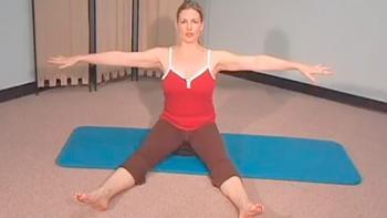 Pilates øvelser til din hjemmetræning - Rotationer