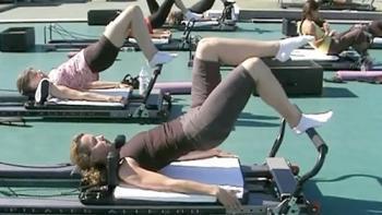 Pilates Reformer Bridging