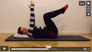 Få det bedre med 10 minutters øvelser (4. søndag i advent 2013)