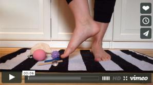 Øvelser med fodtræningskit