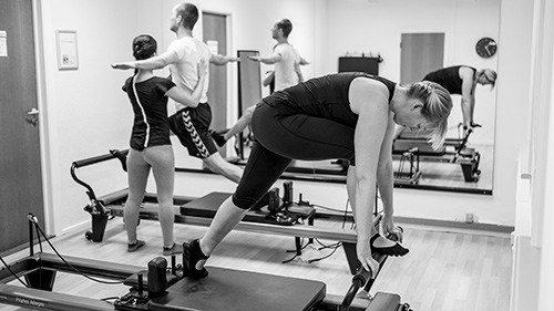 Reformer træning kombineret med behandling