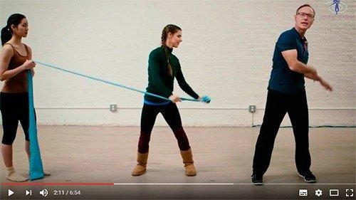 5 effektive Franklin Method maveøvelser med elastik