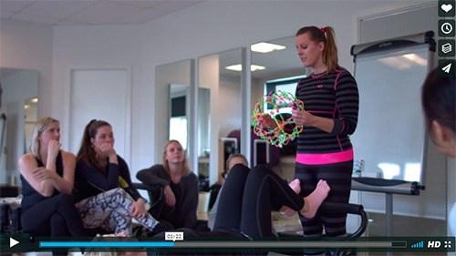 Se film om vores Pilates Matwork og Reformer uddannelse