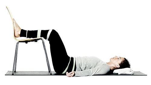 Afspænding for ryg og hofter