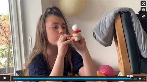 Flow-X åndedrætstræner er sjov for hele familien