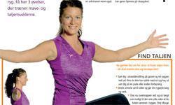 3 øvelser til en fladere mave
