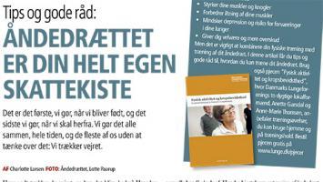 Artikel fra Lungenyt, med Lotte Paarup