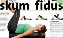 Rul dig stærk og smidig på en skum fidus (foam roller)