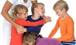 Aktiviteter og lege til børn - fra 5 år...