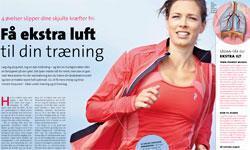 Få ekstra luft til din træning