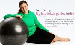 Interview  med Lotte Paarup