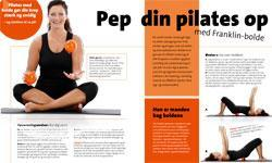 Pilates med Franklin-bolde