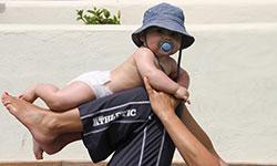 Træning for mor med baby
