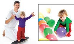 Har du tumlet med dit barn i dag? - øvelser for de helt små