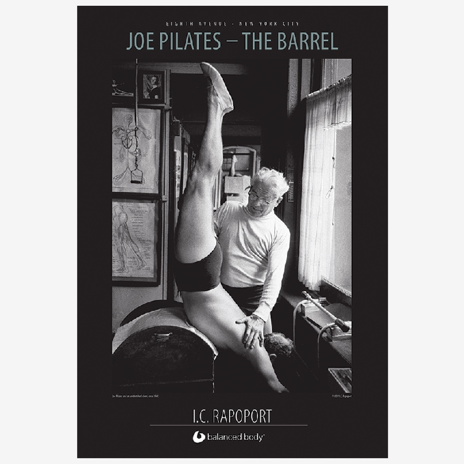 Joe Pilates - Barrel Poster