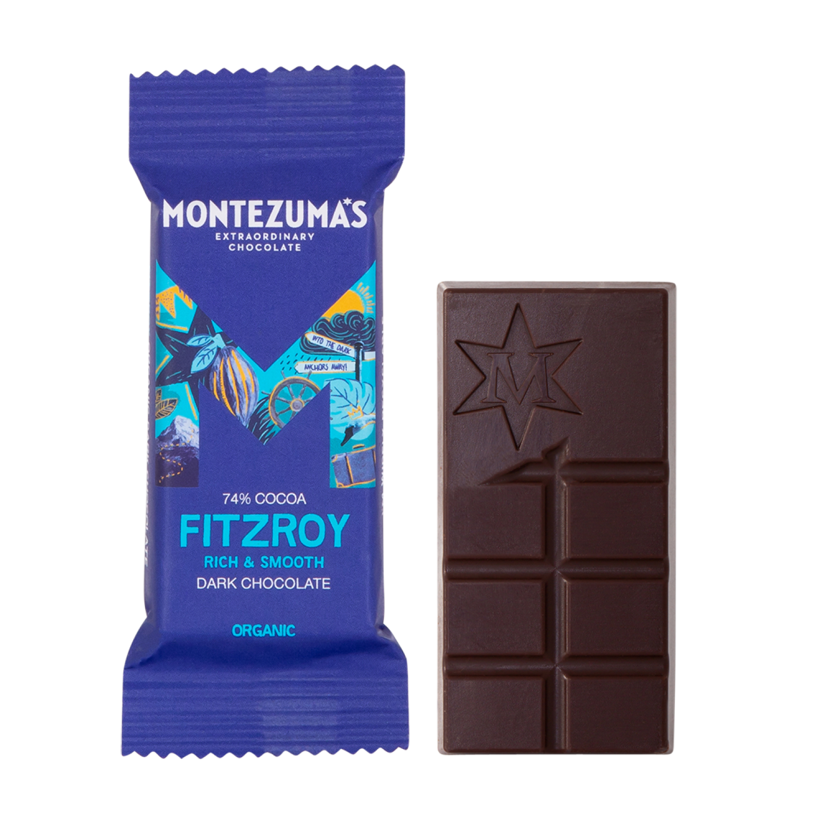 Montezumas Mini Bar - Very Dark 74%