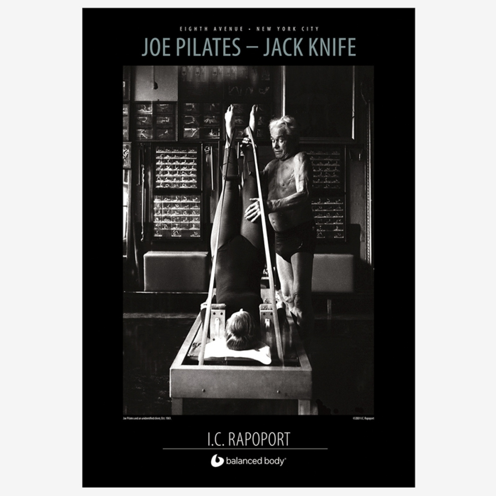 Joe Pilates - Jack Knife Poster