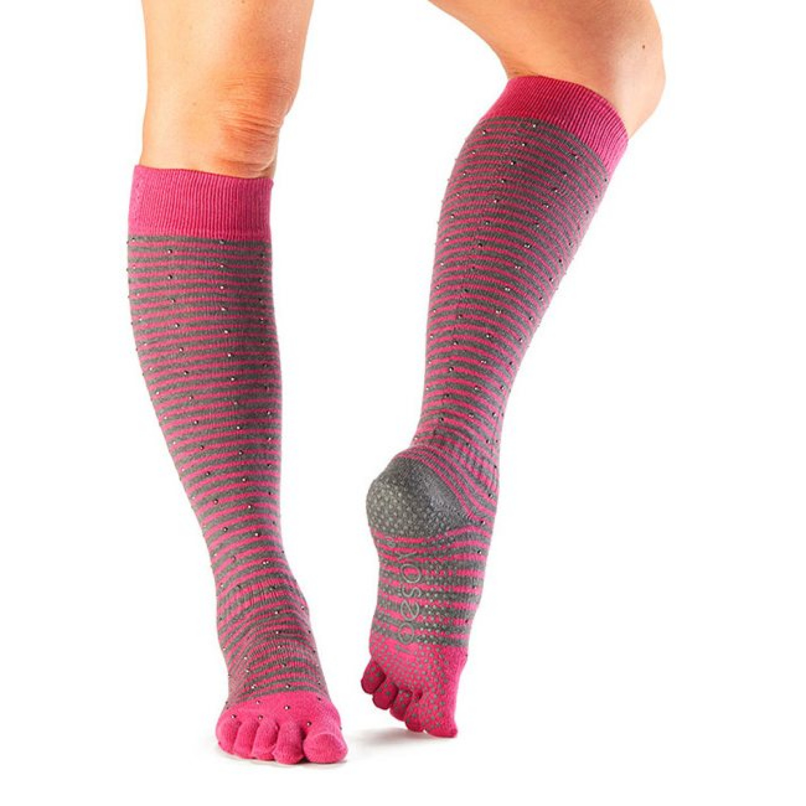 ToeSox Fulltoe Non-slip Knee High