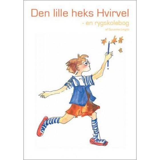 Image of   Den lille heks Hvirvel - en rygskolebog