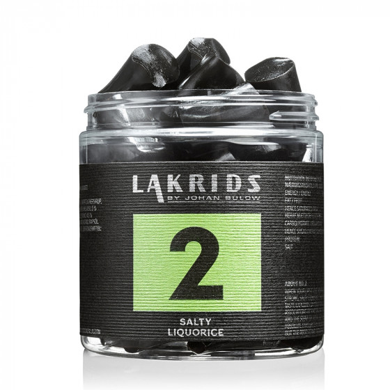 Image of   2 - Salmiak Lakrids