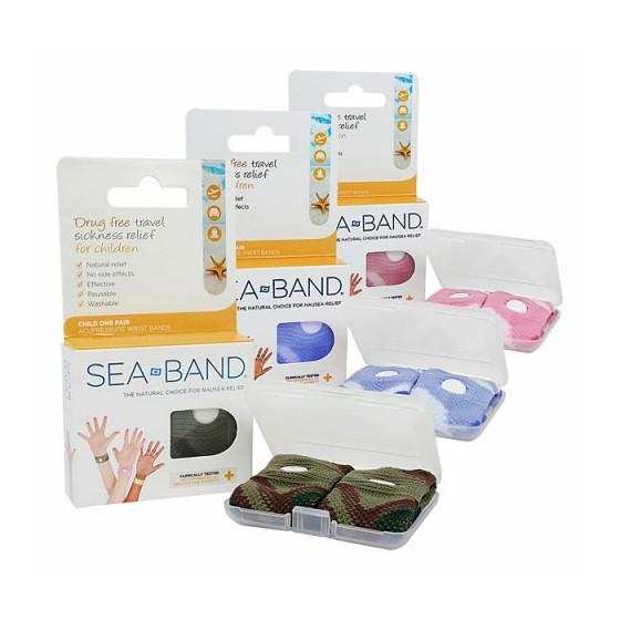 sea-band – Sea-band akupressurarmbånd (børn) på den intelligente krop