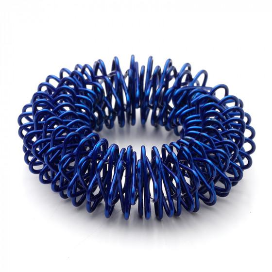 den intelligente krop – Akupressur ringe / finger roller (blå) på den intelligente krop