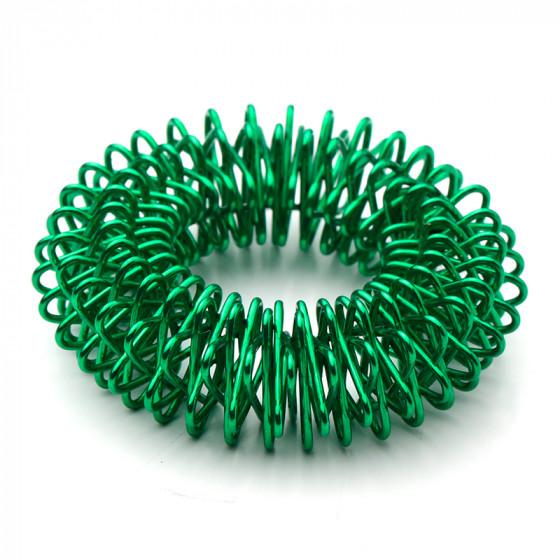 den intelligente krop – Akupressur ringe / finger roller (grøn) fra den intelligente krop