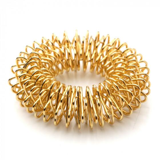 Akupressur ringe / finger roller (guld) fra den intelligente krop fra den intelligente krop