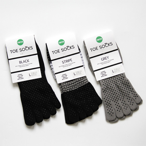 Image of   Toe Socks, Footer