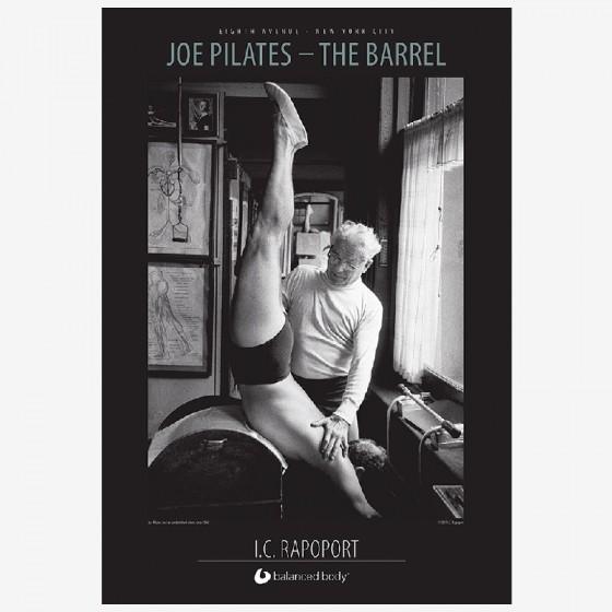 balanced body Joe pilates - barrel poster fra den intelligente krop