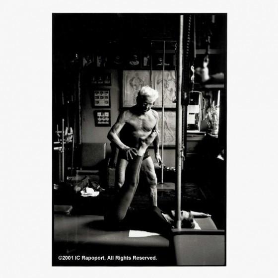 balanced body – Joseph pilates photographs - client/mat på den intelligente krop