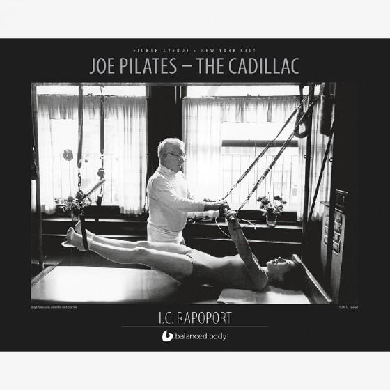balanced body Joe pilates - cadillac poster fra den intelligente krop