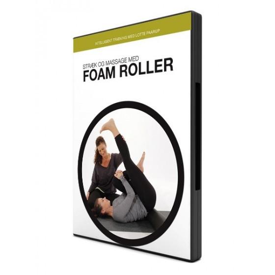 Stræk og massage med foam roller (dvd) fra den intelligente krop fra den intelligente krop