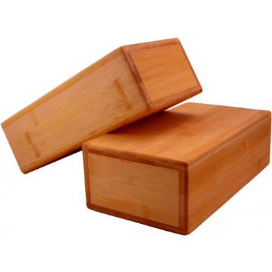 Bambus Yoga-/Pilates blok (1 stk)