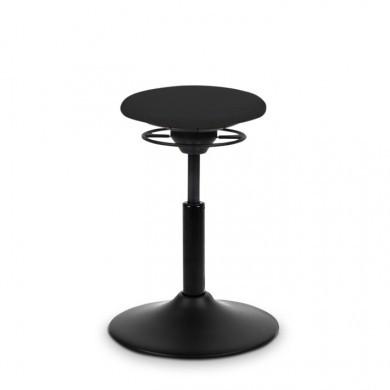 BALIMO Classic stol (Sort lakeret chrom)