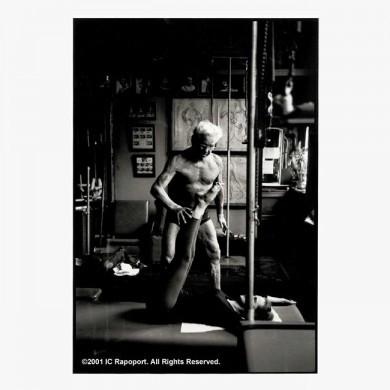 Joseph Pilates Photographs - Client/Mat