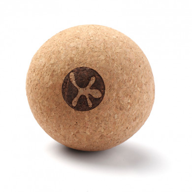 Kork massagebold (8 cm)
