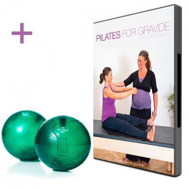 Pilates for gravide (DVD + Grønne bolde)