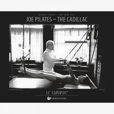 Joe Pilates - Cadillac Poster