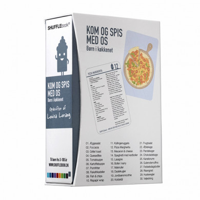 SHUFFLEbook - Kom og spis med os - Børn i køkkenet